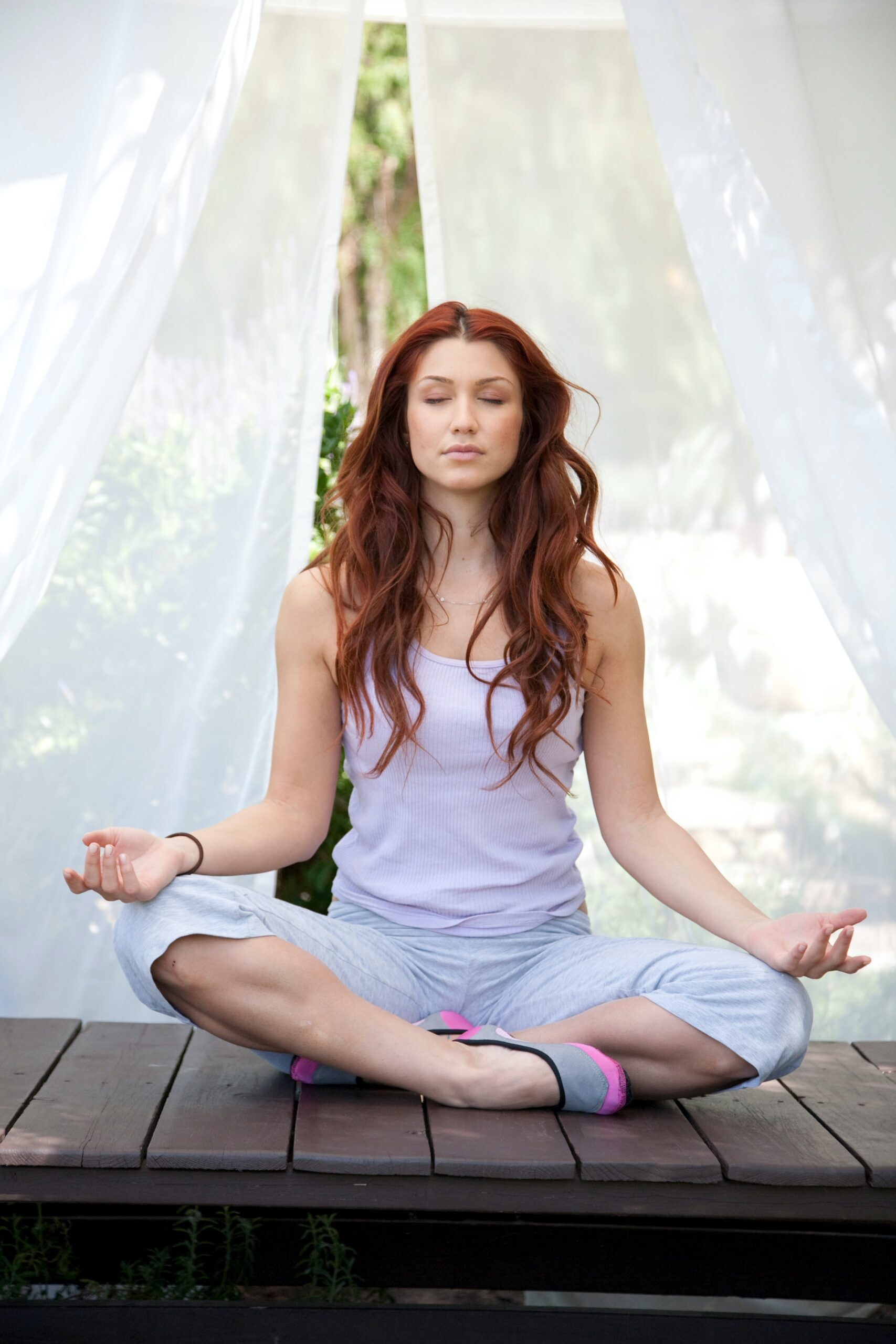 Morning meditation to help with aging